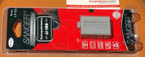 Pin máy ảnh số Sanger LP-E5
