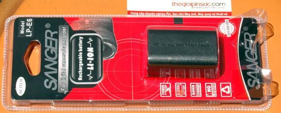 Pin máy ảnh số Sanger LP-E6